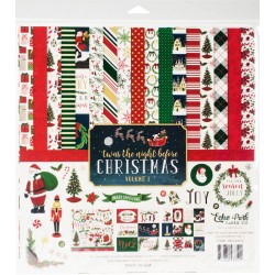 "Twas The Night Before Christmas Volume 1 Collection Kit 12""x12"" Echo Park"