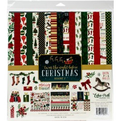 "Twas The Night Before Christmas Volume 2 Collection Kit 12""x12"" Echo Park"
