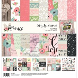 "Romance Collection Kit 12""x12"" Simple Stories"