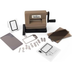 Sizzix Sidekick Starter Kit Brown & Black featuring Tim Holtz designs