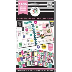 Everyday Classic Create 365 The Happy Planner Sticker Value Pack