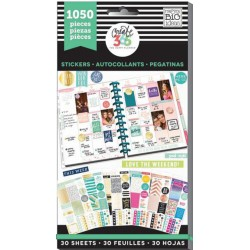 This Colorful Life Classic Create 365 The Happy Planner Sticker Value Pack