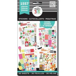 Seasonal Classic Create 365 The Happy Planner Sticker Value Pack
