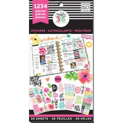 Today Is The Day Create 365 The Happy Planner Sticker Value Pack