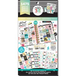 Work It Out Classic Create 365 The Happy Planner Sticker Value Pack