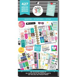 Quotes Life Classic Create 365 The Happy Planner Sticker Value Pack