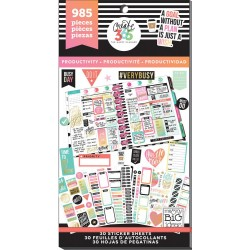Productivity Classic Create 365 The Happy Planner Sticker Value Pack
