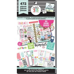 Memory Planning Big Create 365 The Happy Planner Sticker Value Pack