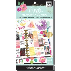 Floral Memories Stickers Create 365 The Happy Planner Me & My Big Ideas