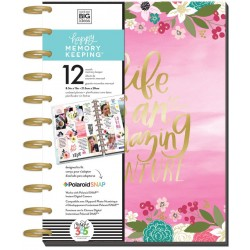 Life is An Amazing Adventure Big 12 Month Memory Keeper Undated Planner Me&My Big Ideas