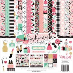 "Fashionista Collection Kit 12""x12"" Echo Park"