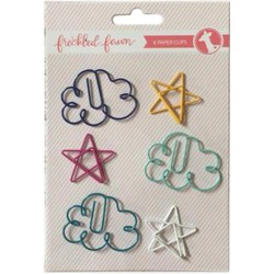 Clouds & Stars Decorative Metal Paper Cips Freckled Fawn