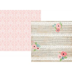"""Love & Adore Double-Sided Cardstock 12""""x12"""" Romance Collection Simple Stories"""