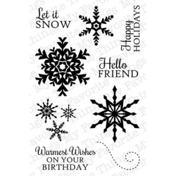 Snowflake Splendor Clear Stamps My Favorite Things