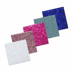 Assortiment 3 Self-Adhesive Glitter Paper