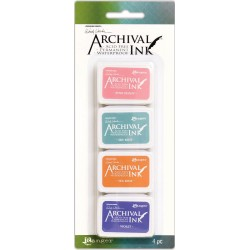 Kit 3 Archival Mini Ink Pad Kits by Wendy Vecchi Ranger