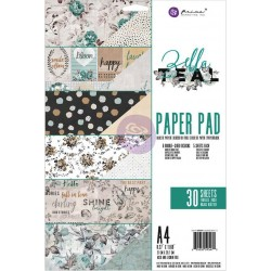 Zella Teal Paper Pad A4 Prima Marketing