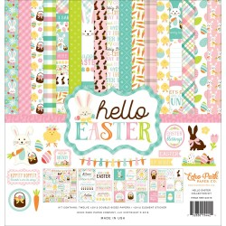 """Hello Easter Collection Kit 12""""x12"""" Echo Park"""