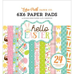 """Hello Easter Paper Pad 6""""x6"""" Echo Park"""