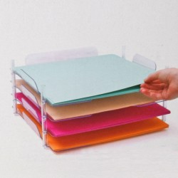 "Stackable Paper Trays 12""x13"" 4 We R Memory Keepers"