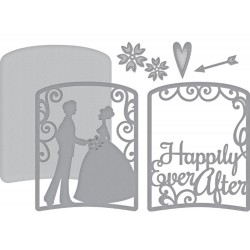 Layered Happily Ever After Shapeabilities Dies Spellbinders