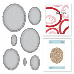 Fancy Edged Ovals Nestabilities Dies Spellbinders