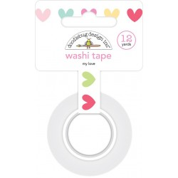My Love Washi Tape 15 mm Doodlebug