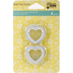 Small Heart Shaker Tag Insert Jillibean Hampton Art