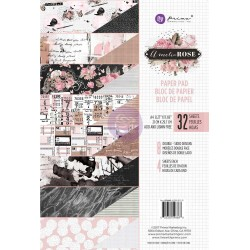 Amelia Rose Paper Pad A4 Prima Marketing
