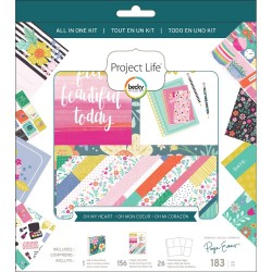 Paige Evans Oh My Heart All-In-One Album Kit Project Life