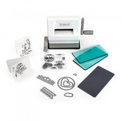 Sizzix Sidekick Starter Kit White & Gray Starter Kit