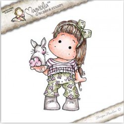 Timbro Tilda With Little Bunny Magnolia Rubber Stamp - SC-18