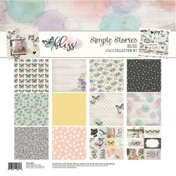 "Bliss Collection Kit 12""x12"" Simple Stories"