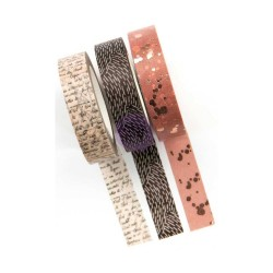 Amelia Rose Decorative Tape 3 Pkg Prima Marketing