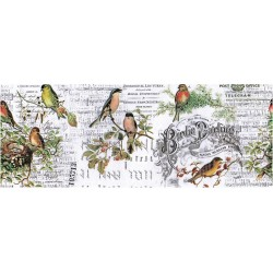 Aviary Collage Paper 6 yards Tim Holtz