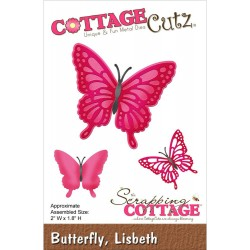 Lisbeth Butterfly Die CottageCutz