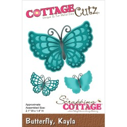 Kayla Butterfly Die CottageCutz