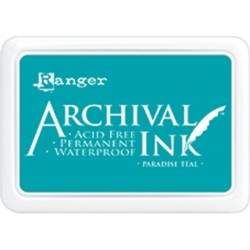 Paradise Teal Archival Ink