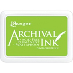 Vivid Chartreuse Archival Ink