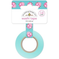 Little Ladybugs Washi Tape 15 mm Doodlebug