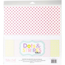 "Easter Vellum Dots Collection Kit 12""x12"" Echo Park"