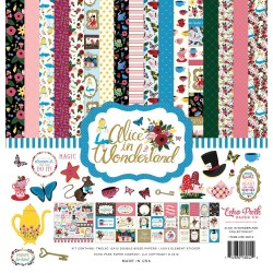 "Alice in Wonderland Collection Kit 12""x12"" Echo Park"