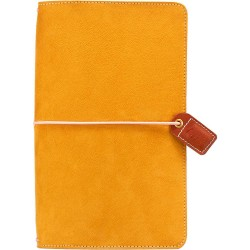 "Mustard Suede Color Crush Traveler's Notebook Planner 5,75""x8,75"" Webster's Pages"
