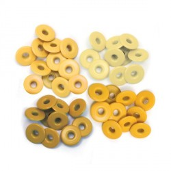 Yellow Eyelets Wide