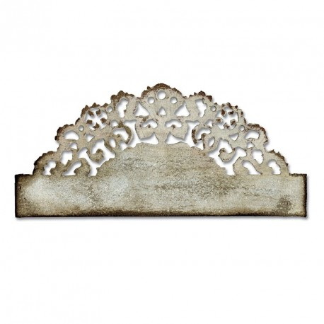 Distressed Doily by Tim Holtz Sizzix On The Edge