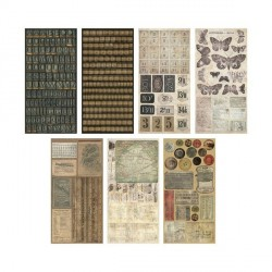 Crowed Attic Salvage Stickers Idea Ology Tim Holtz