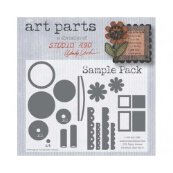 Sample Pack Art Parts Chipboard Studio 490 Wendy Vecchi