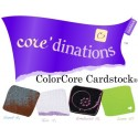 Cardstock Core'dinations