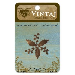 Whimsical Spray Vintaj Metall Accents