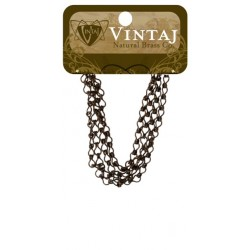 "Ladder Chain 24"" Vintaj Metall Accents"